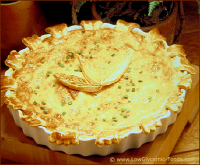 Quiche is easy to make and makes out a great meal for those who are trying to control their blood sugar levels.